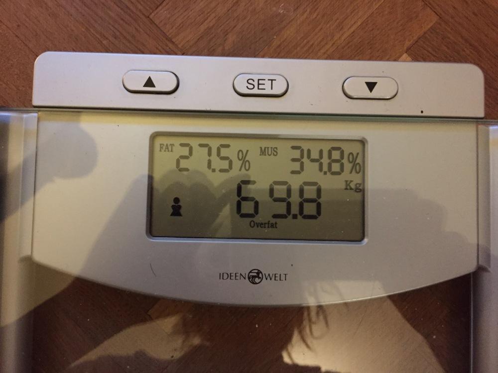 Gewichtsabnahme Frau 173cm Körperfett